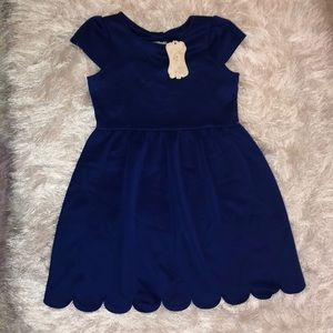 Blue soprano dress